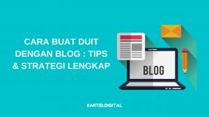 cara buat duit dengan blog featured image