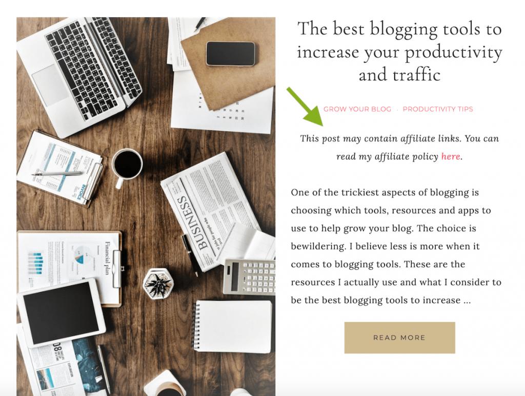 guna blog untuk buat duit dengan affiliate marketing