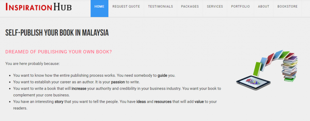 self publishing malaysia website