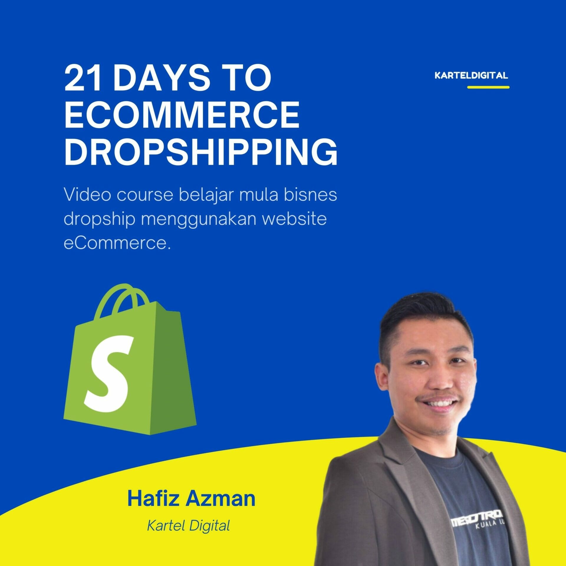 21 days to ecommerce dropshipping dropship kartel