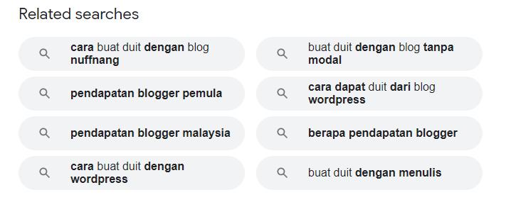 contoh topic research guna google search