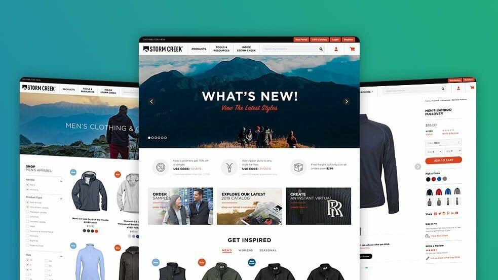 contoh website ecommerce