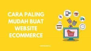 Cara Buat Website eCommerce