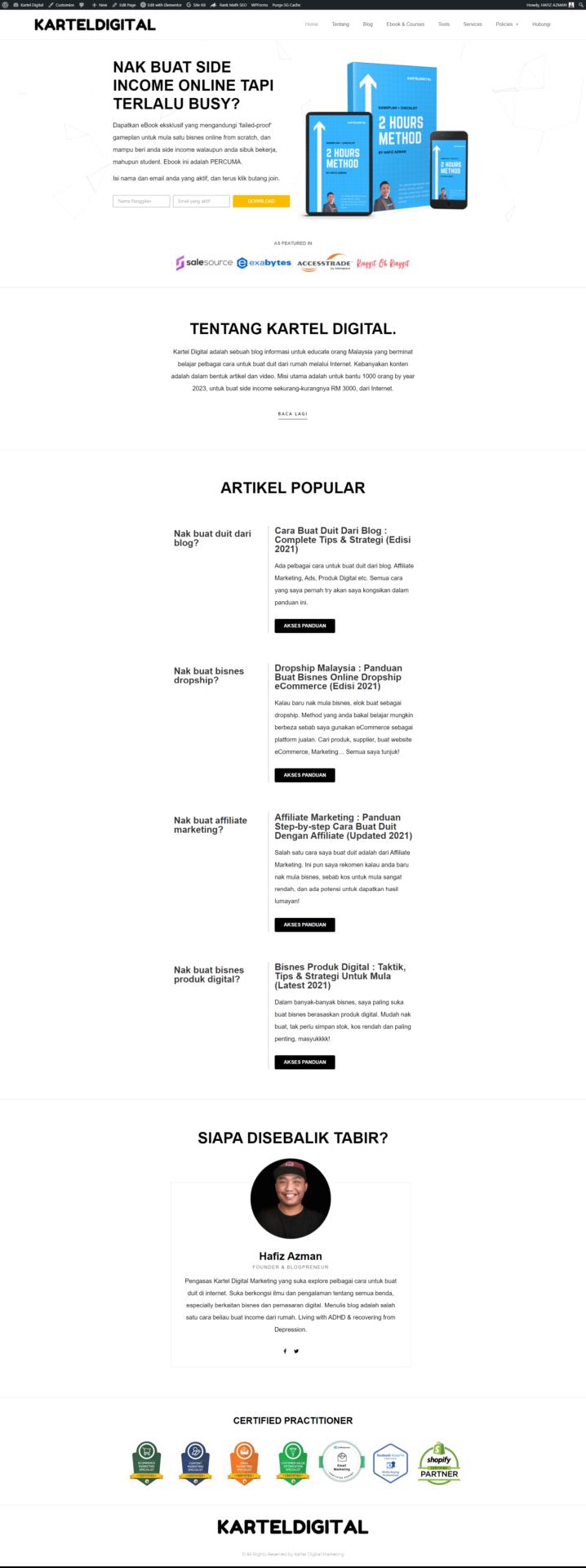 Kartel Digital Homepage Blog 1