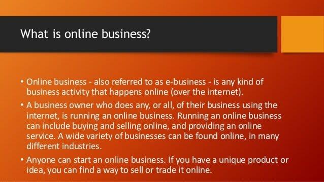 mulakan bisnes online