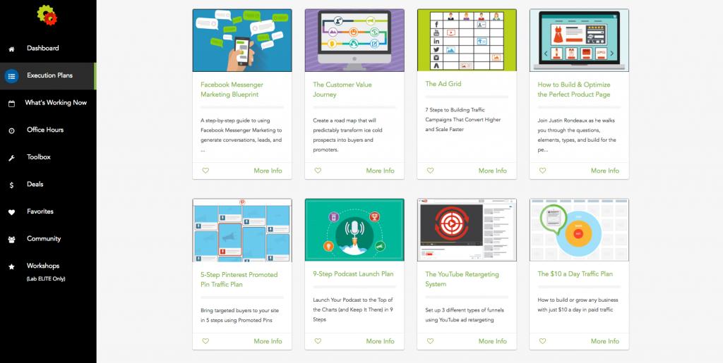 contoh membership site produk digital