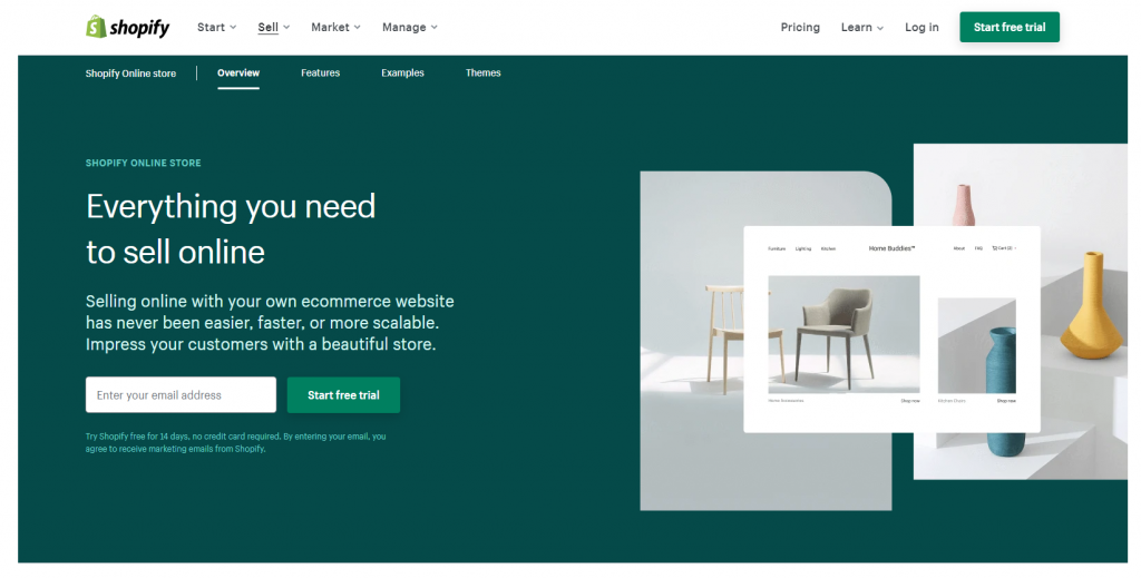 shopify produk digital