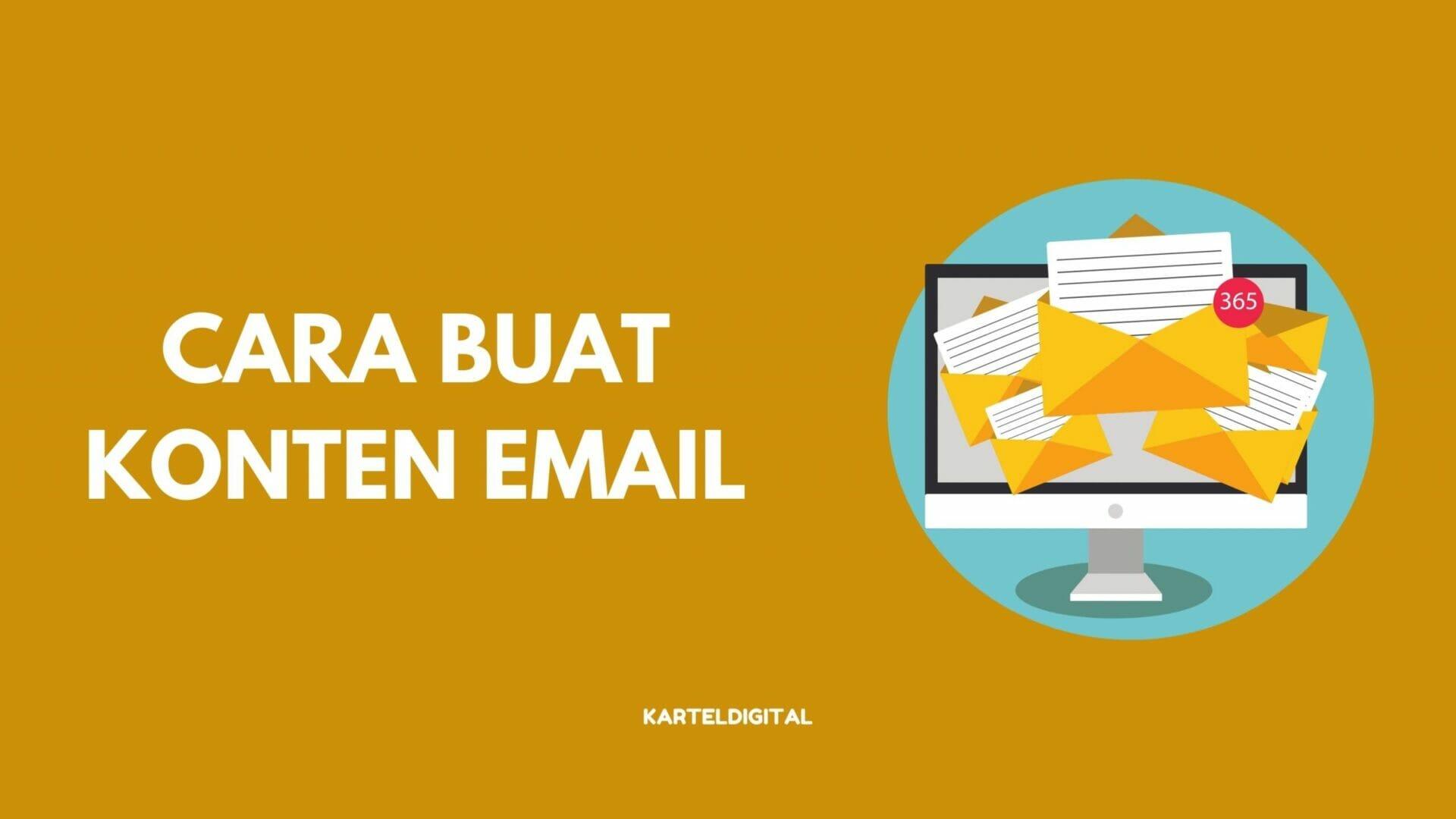 Cara buat konten email