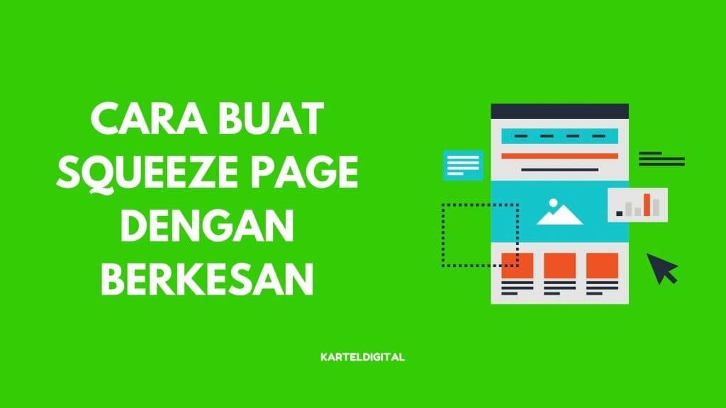 cara buat squeeze page berkesan