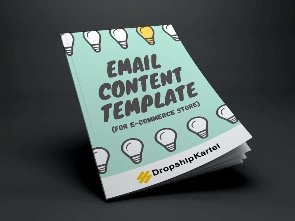 mockup email content template
