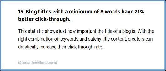 Blog Title Tips